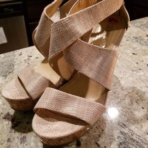 Cute BCBG sandals
